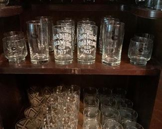 Jack Daniel's and other bar ware