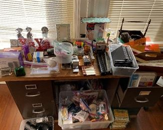 Office supplies and assorted