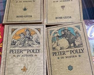 Set of 4 Peter and Polly