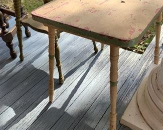 Painted child's table
