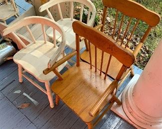 Toy/doll/child's chairs