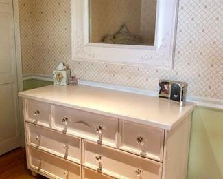 Matching dresser & mirror & desk