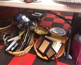 Frames, DVD's , Baskets