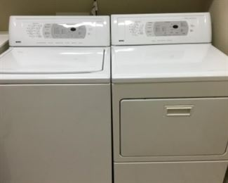 Kenmore Elite washer & dryer set