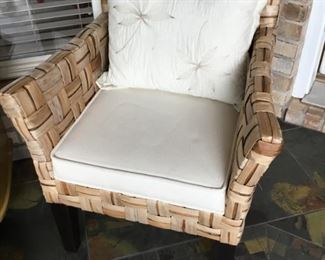 Banana leaf armchair