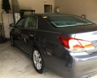 Toyota 2012 Avalon limited sedan, moon roof, leather grey interior, 72,248 miles. Available for silent bids only.
