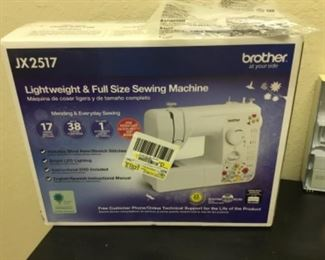 Brother JX 2517 sewing machine