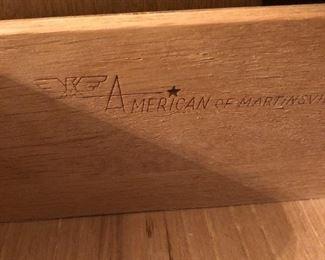 American of Martinsville furniture