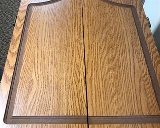 SportCraft electronic Dartboard in wooden case