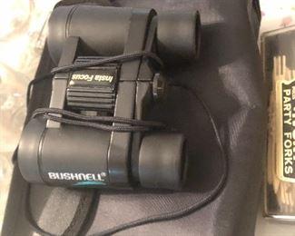 Bushnell binoculars with case