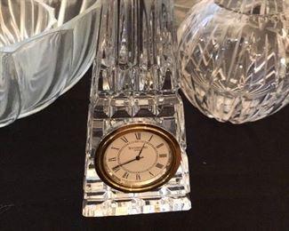 Waterford desk clock