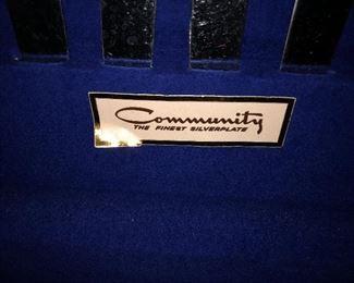 Community Oneida flatware