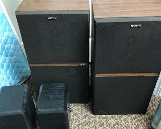 Sony speakers,  SSU400