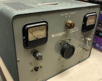 Vintage Knight battery eliminator