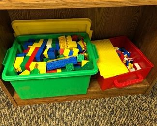 Vintage Lego bricks