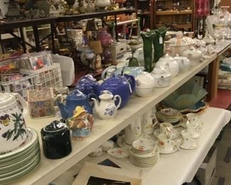 Teapots, Coffee Pots, China