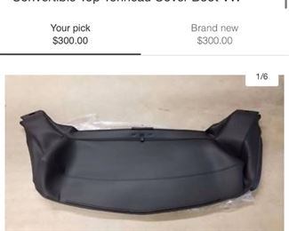 VW Beetle Soft Top Cover Boot Brand new