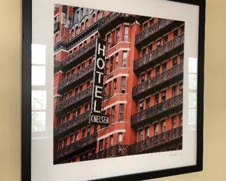 "American Art Photographer Marc Wolinsky-Chelsea Hotel, 26.5"" x 16"""