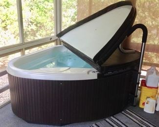 Another view of the 2-Person Hot Tub