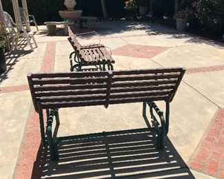 Benches. Variety