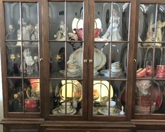 Ethan Beautiful china cabinet. Great for up coming holidays