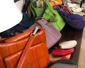 Brand new purses. Variety of colors and style