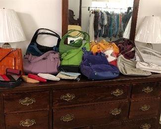Ethan Allen Dresser and purses