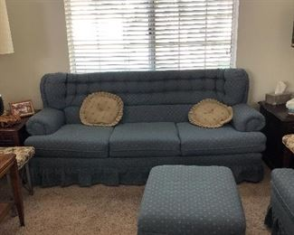 70's Sofa and matching chairs Priced individually