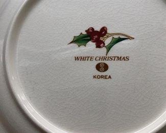 Christmas China mark