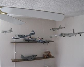 A few of the many Planes...