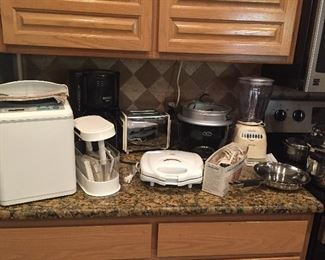 Some of the Small Appliances...