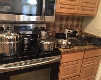 Some of the Pots /Pans...