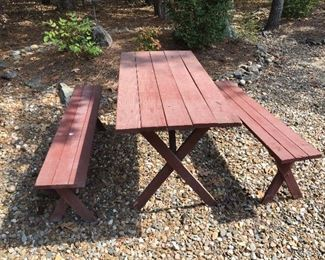 Picnic Table...