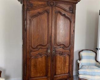 Large antique armoire.