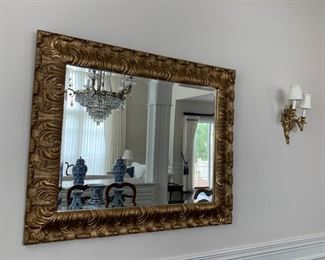 Massive Wall Mirror.
