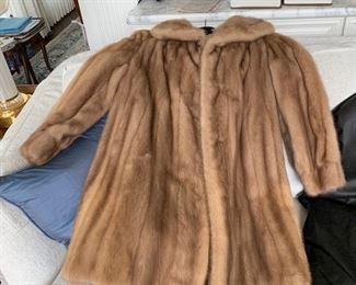 Autumn Haze Mink Jacket - Size 10?