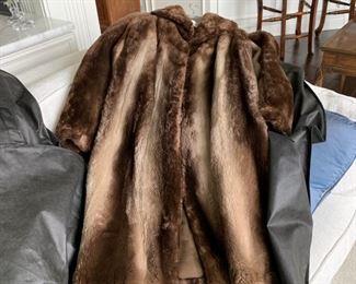 Sheared Beaver Jacket - Size 10?