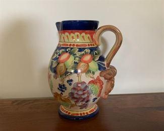 Italian ceramic jug.