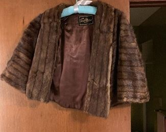 Ladies fur wrap