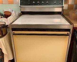 Ceramic top electric stove