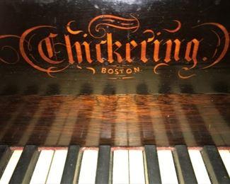 Chickering Square Grand piano logo