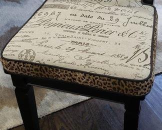 Close-up of Custom Chair Cushions
