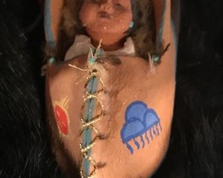 exquisitely  and professionally made Native American Nativity set - never seen as detailed a pieces of hand sculpted art pieces