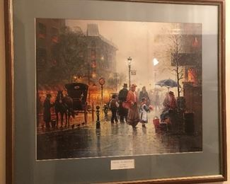 Charity the gift of Love - G. Harvey signed print  1 of 2