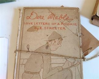Dear Mable love letters from a rookie 1918 WWI
