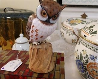 Carved Owl - Small