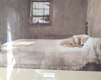 Master Bedroom by Andrew Wyeth