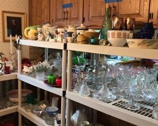 Knickknacks, teacup & saucers, collectibles