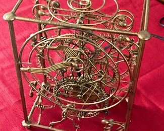 Vintage Gordon Bradt 6 Man Clock Kinetico