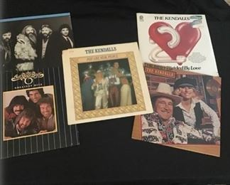 Country Music Group Vinyls